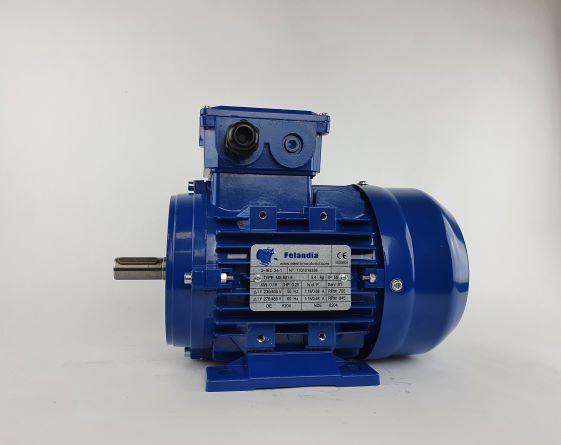 Elektrimootor 0,18kW/700 p/min MS 801-8 B3; IE1; IP55; 230/400V