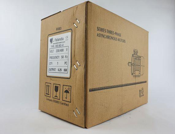 Elektrimootor 0,25kW/700 p/min MS 802-8 B3; IE1; IP55; 230/400V