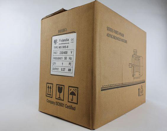 Elektrimootor 0,37kW/700 p/min MS 90S-8 B3; IE1; IP55; 230/400V