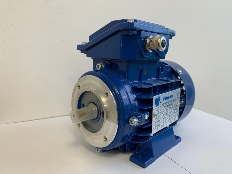 Elektrimootor 0,18kW/1000 p/min T1A 633-6 B34; IE1; IP55; 230/400V