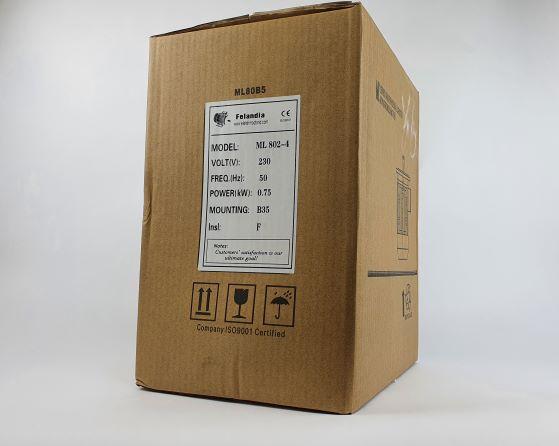 Elektrimootor 0,75kW/1500 p/min ML 802-4 B35; IP55; 230V