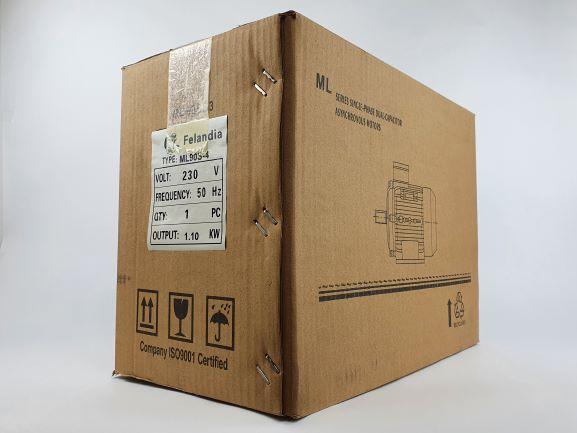 Elektrimootor 1,1kW/1500 p/min ML 90S-4 B3; IP55; 230V
