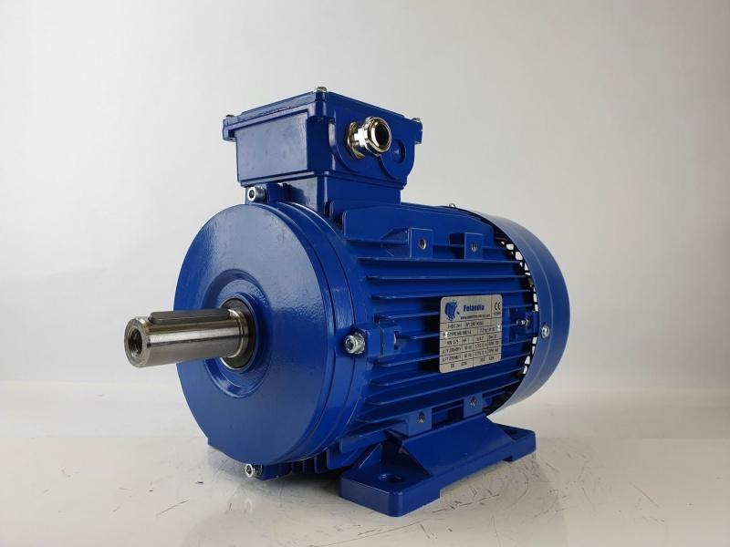 Elektrimootor 0,75kW/700 p/min MS 100L1-8 B3; IE1; IP55; 230/400V