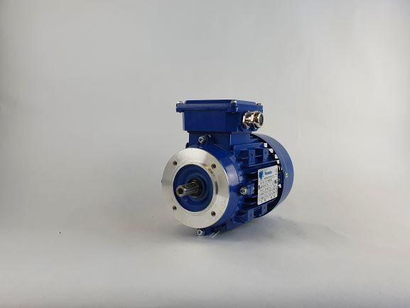 Elektrimootor 0,25kW/1500 p/min MS 711-4 B14; IE1; IP55; 230/400V