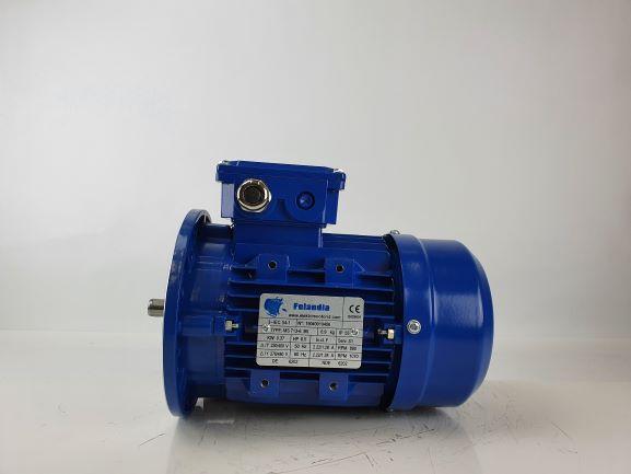 Elektrimootor 0,37kW/1000 p/min MS 713-6 B5; IE1; IP55; 230/400V