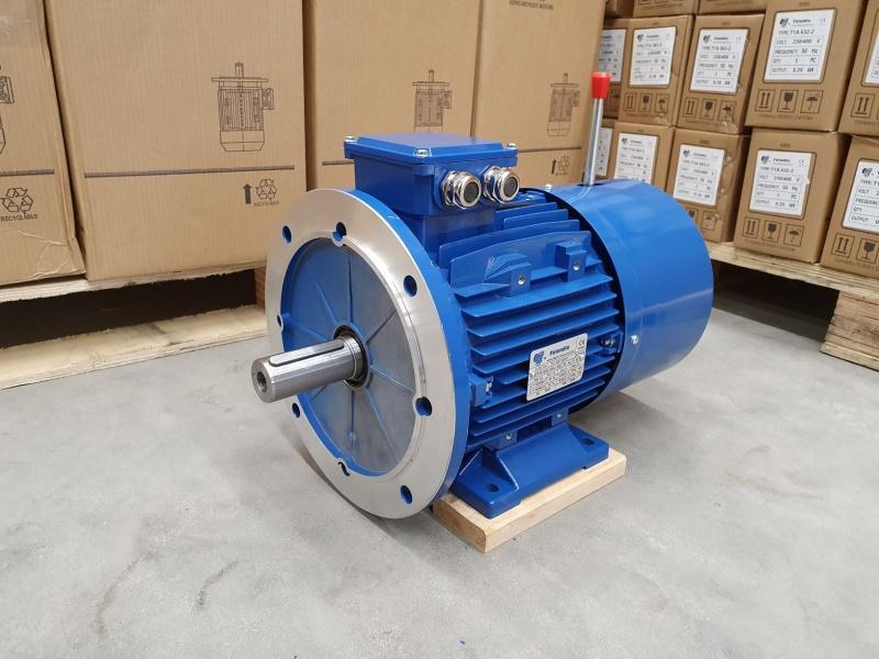 Pidurmootor 5,5kW/1500 p/min MSB 132S-4 B35; IE1; IP55; 400/690V