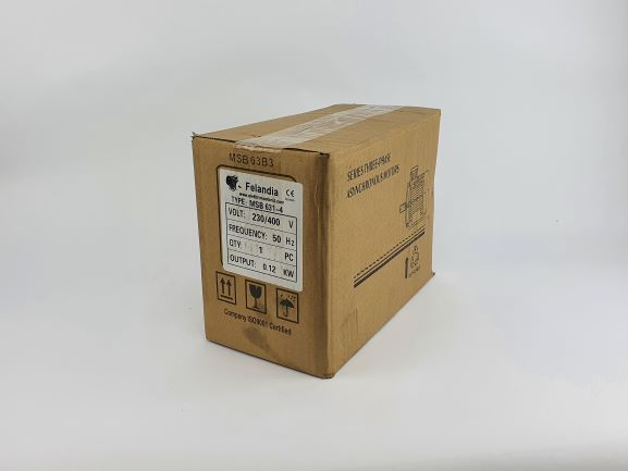 Pidurmootor 0,12kW/1500 p/min MSB 631-4 B34; IE1; IP55; 230/400V
