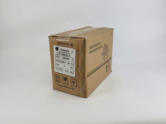 Pidurmootor 0,18kW/1500 p/min MSB 632-4 B34; IE1; IP55; 230/400V
