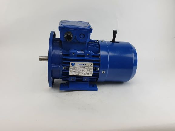 Pidurmootor 0,55kW/1500 p/min MSB 801-4 B35; IE1; IP55; 230/400V