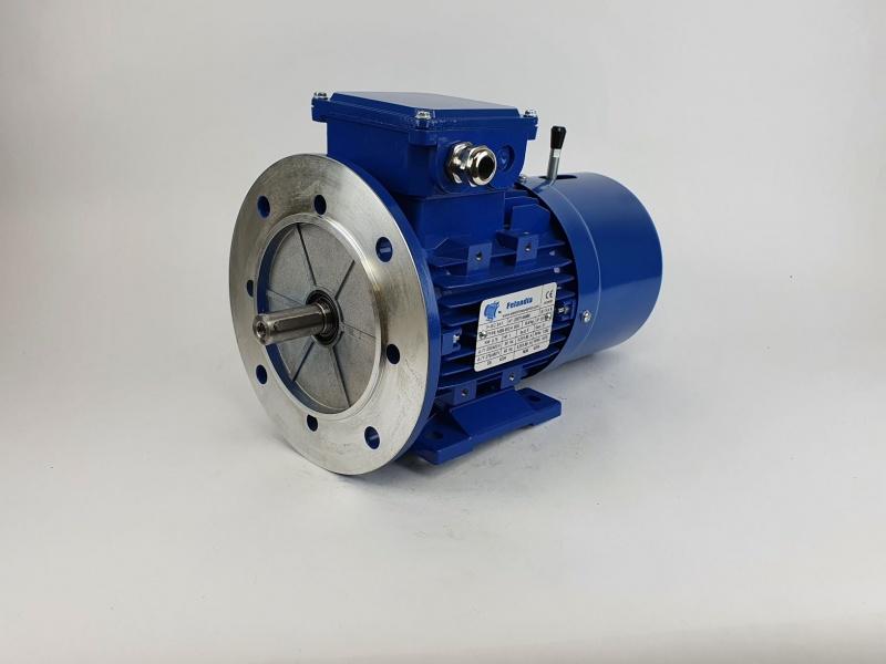 Pidurmootor 0,75kW/1500 p/min MSB 802-4 B35; IE1; IP55; 230/400V