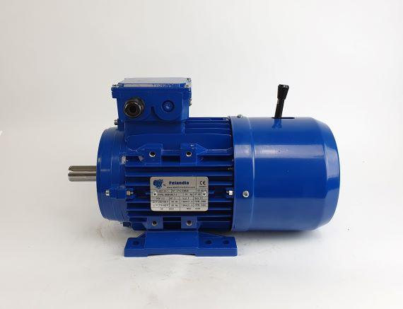 Pidurmootor 2,2kW/3000 p/min MSB 90L1-2 B3; IE1; IP55; 230/400V