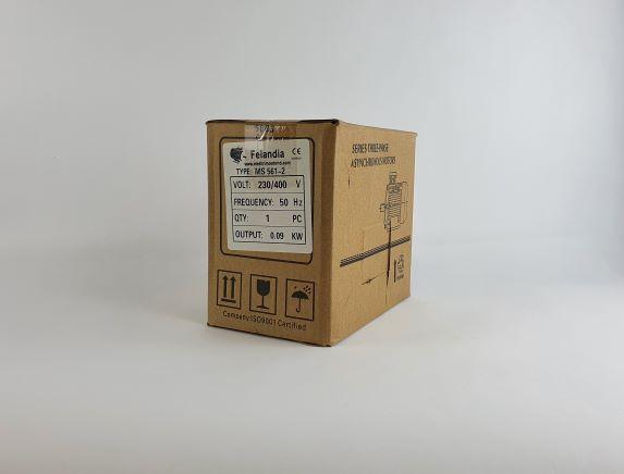 Elektrimootor 0,09kW/3000 p/min MS 561-2 B3; IE1; IP55; 230/400V