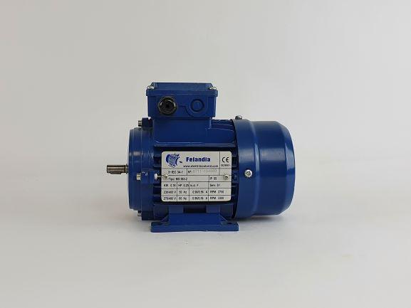 Elektrimootor 0,18kW/3000 p/min MS 563-2 B3; IE1; IP55; 230/400V
