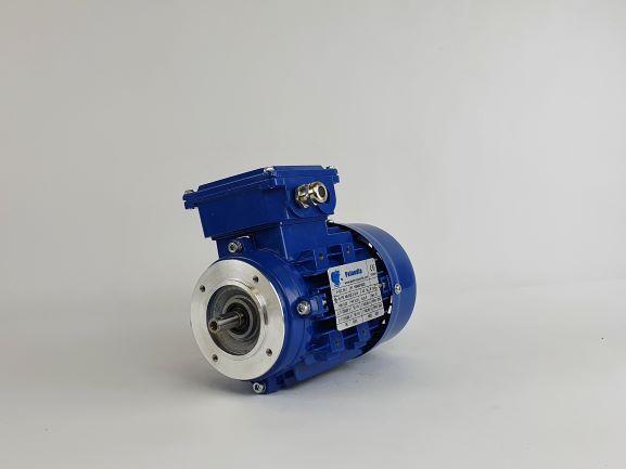 Elektrimootor 0,25kW/3000 p/min MS 632-2 B14; IE1; IP55; 230/400V