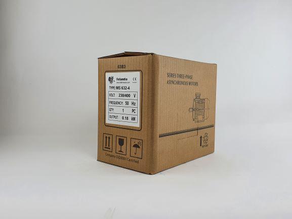 Elektrimootor 0,18kW/1500 p/min MS 632-4 B3; IE1; IP55; 230/400V