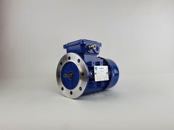 Elektrimootor 0,18kW/1500 p/min MS 632-4 B5; IE1; IP55; 230/400V