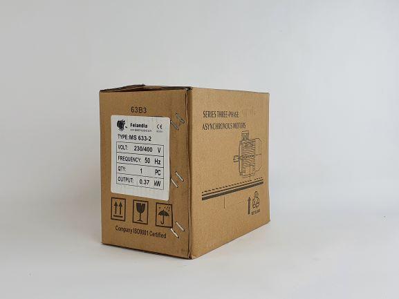 Elektrimootor 0,37kW/3000 p/min MS 633-2 B3; IE1; IP55; 230/400V