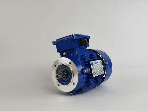 Elektrimootor 0,37kW/3000 p/min MS 711-2 B14; IE1; IP55; 230/400V