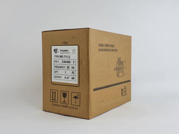 Elektrimootor 0,37kW/3000 p/min MS 711-2 B3; IE1; IP55; 230/400V