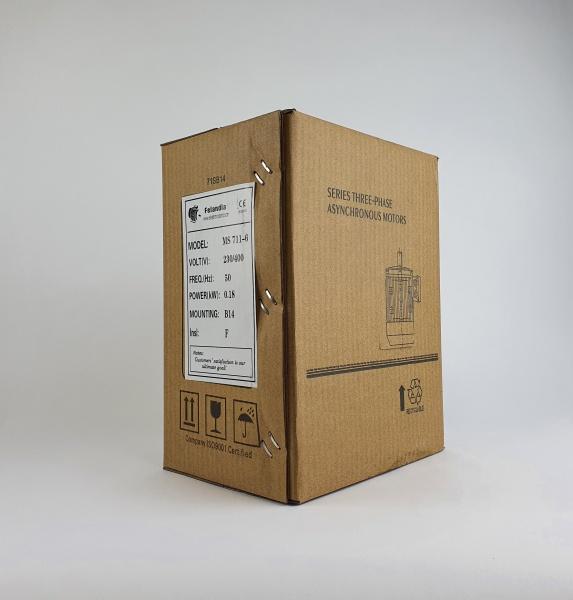 Elektrimootor 0,18kW/1000 p/min MS 711-6 B14; IE1; IP55; 230/400V