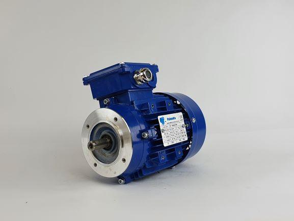 Elektrimootor 0,55kW/3000 p/min MS 712-2 B14; IE1; IP55; 230/400V