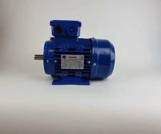Elektrimootor 0,37kW/1000 p/min MS 801-6 B3; IE1; IP55; 230/400V