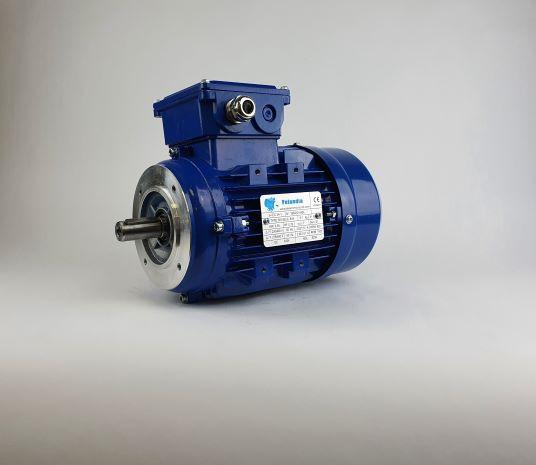 Elektrimootor 0,55kW/1000 p/min MS 802-6 B14; IE1; IP55; 230/400V