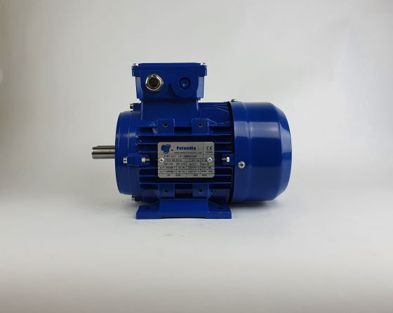 Elektrimootor 0,55kW/1000 p/min MS 802-6 B3; IE1; IP55; 230/400V
