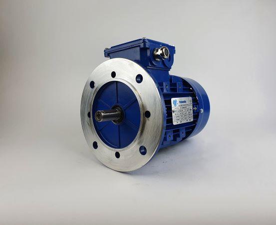 Elektrimootor 0,55kW/1000 p/min MS 802-6 B5; IE1; IP55; 230/400V