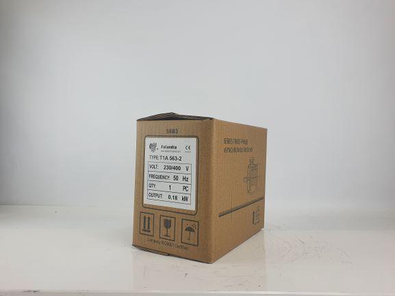 Elektrimootor 0,18kW/3000 p/min T1A 563-2 B34; IE1; IP55; 230/400V