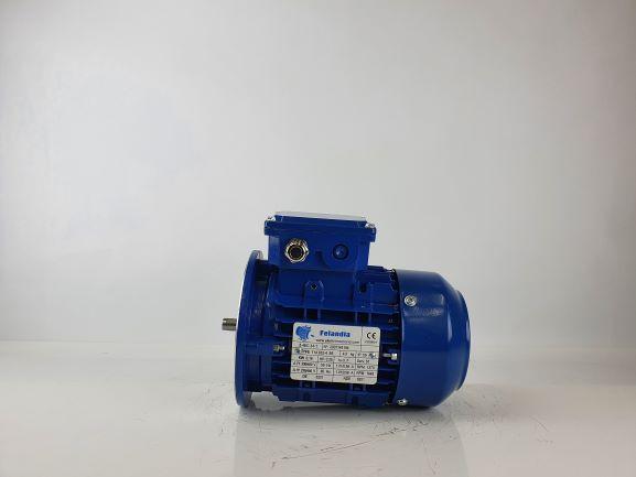 Elektrimootor 0,18kW/1500 p/min T1A 632-4 B5; IE1; IP55; 230/400V