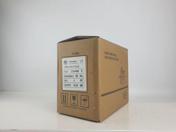 Elektrimootor 0,55kW/3000 p/min T1A 712-2 B3; IE1; IP55; 230/400V