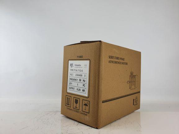 Elektrimootor 0,25kW/1000 p/min T1A 712-6 B34; IE1; IP55; 230/400V