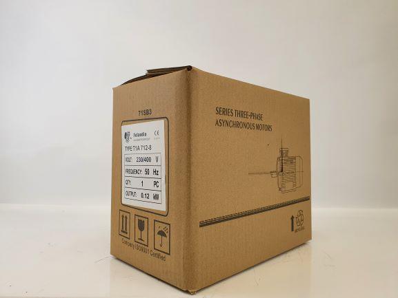 Elektrimootor 0,12kW/700 p/min T1A 712-8 B3; IE1; IP55; 230/400V