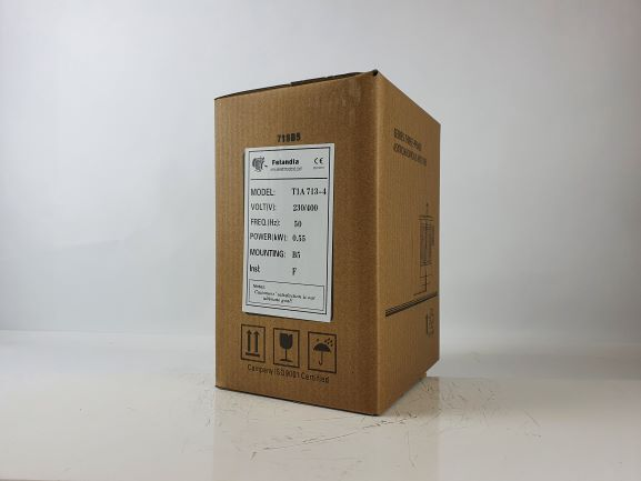 Elektrimootor 0,55kW/1500 p/min T1A 713-4 B5; IE1; IP55; 230/400V