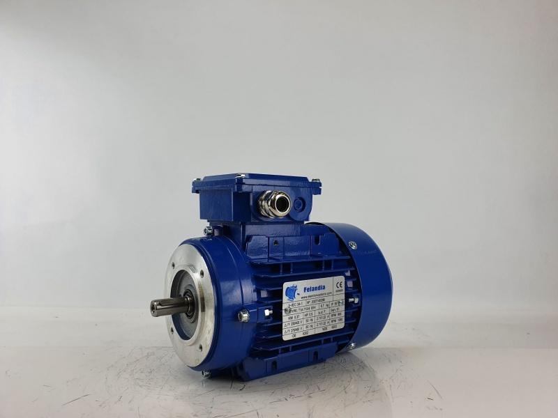Elektrimootor 0,37kW/1000 p/min T1A 713-6 B14; IE1; IP55; 230/400V