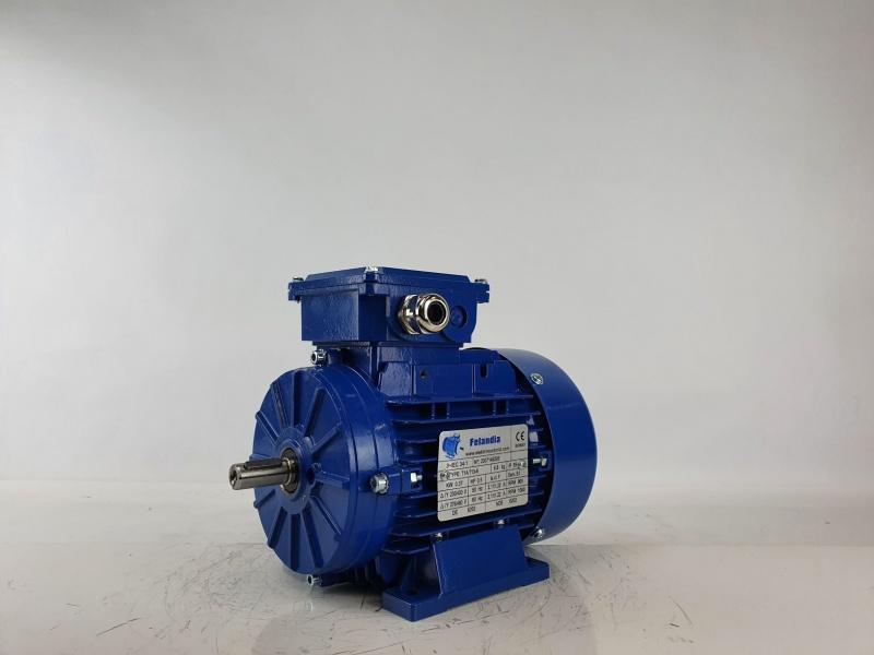 Elektrimootor 0,37kW/1000 p/min T1A 713-6 B3; IE1; IP55; 230/400V