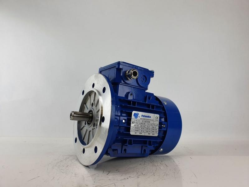 Elektrimootor 0,55kW/1000 p/min T1A 802-6 B5; IE1; IP55; 230/400V