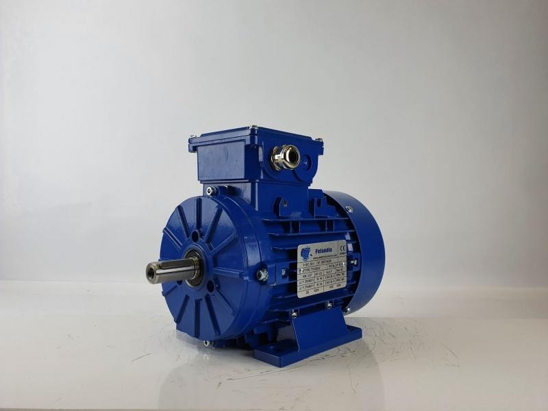 Elektrimootor 0,37kW/700 p/min T1A 803-8 B3; IE1; IP55; 230/400V