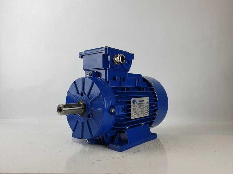 Elektrimootor 0,75kW/700 p/min T1A 90L2-8 B3; IE1; IP55; 230/400V