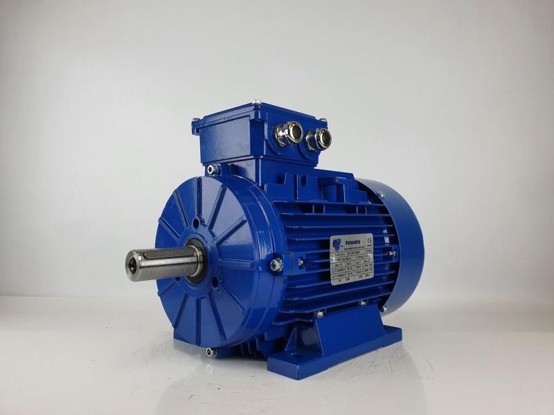 Elektrimootor 2,2kW/1500 p/min T3A 100L1-4 B3; IE3; IP55; 230/400V; Kütteelemendiga