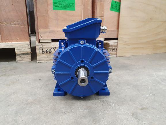Elektrimootor 2,2kW/1000 p/min T3A 100L2-6 B3; IE3; IP55; 230/400V