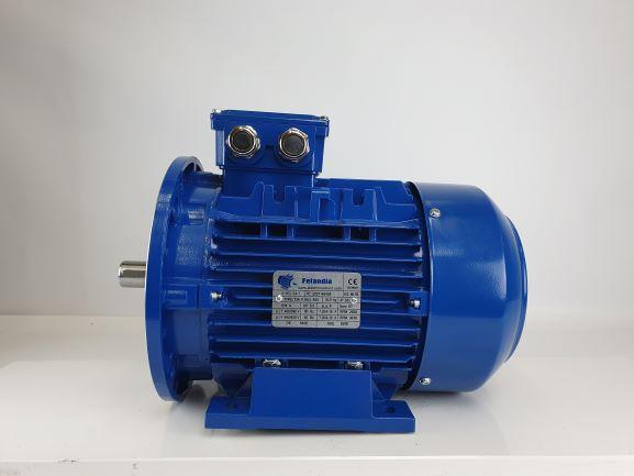 Elektrimootor 4,0kW/3000 p/min T3A 112M-2 B35; IE3; IP55; 400/690V; PTC termistorid 130℃