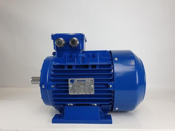 Elektrimootor 4,0kW/3000 p/min T3A 112M-2 B3; IE3; IP55; 400/690V; PTC termistorid 130℃