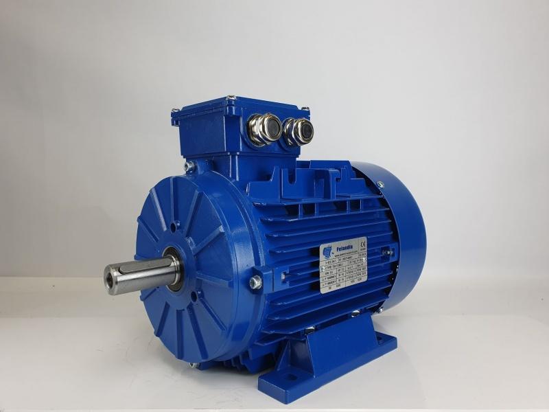 Elektrimootor 5,5kW/3000 p/min T3A 112M2-2 B3; IE3; IP55; 400/690V; PTC termistorid 130℃