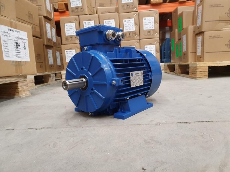 Elektrimootor 5,5kW/1500 p/min T3A 112M2-4 B3; IE3; IP55; 400/690V; PTC termistorid 130℃