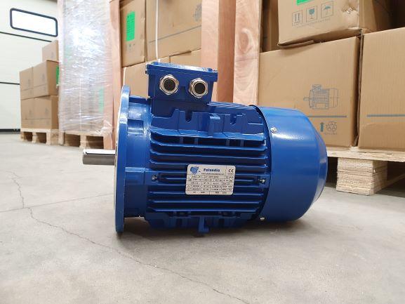 Elektrimootor 5,5kW/1500 p/min T3A 112M2-4 B5; IE3; IP55; 400/690V; PTC termistorid 130℃