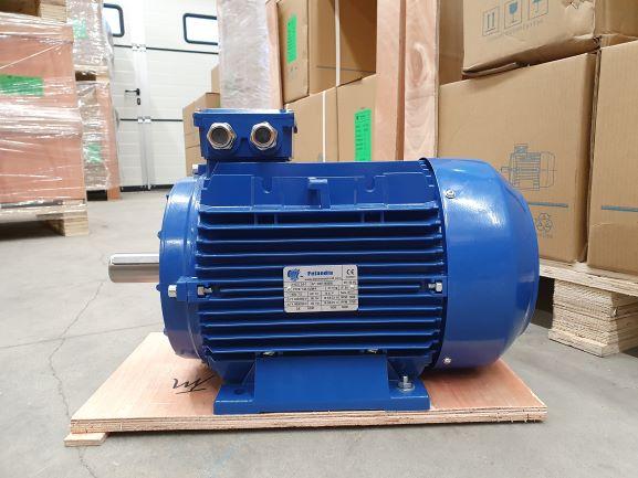 Elektrimootor 7,5kW/1500 p/min T3A 132M-4 B3; IE3; IP55; 400/690V; PTC termistorid 130℃