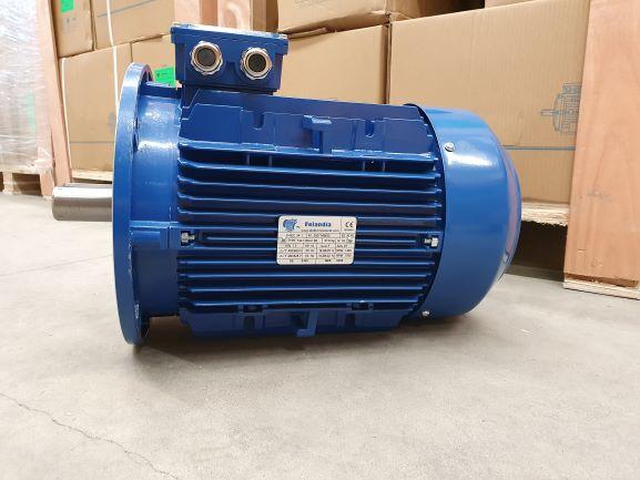 Elektrimootor 7,5kW/1500 p/min T3A 132M-4 B5; IE3; IP55; 400/690V; PTC termistorid 130℃