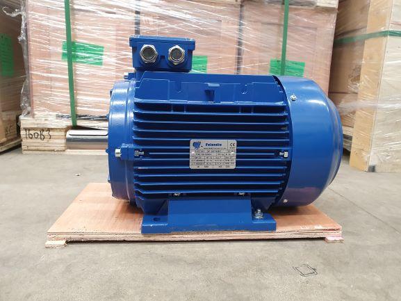 Elektrimootor 5,5kW/1000 p/min T3A 132M2-6 B3; IE3; IP55; 400/690V; PTC termistorid 130℃